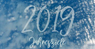 Jahresziele 2019